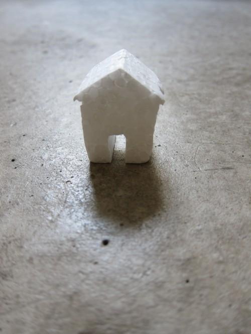 Haus · Bauten · Styropor